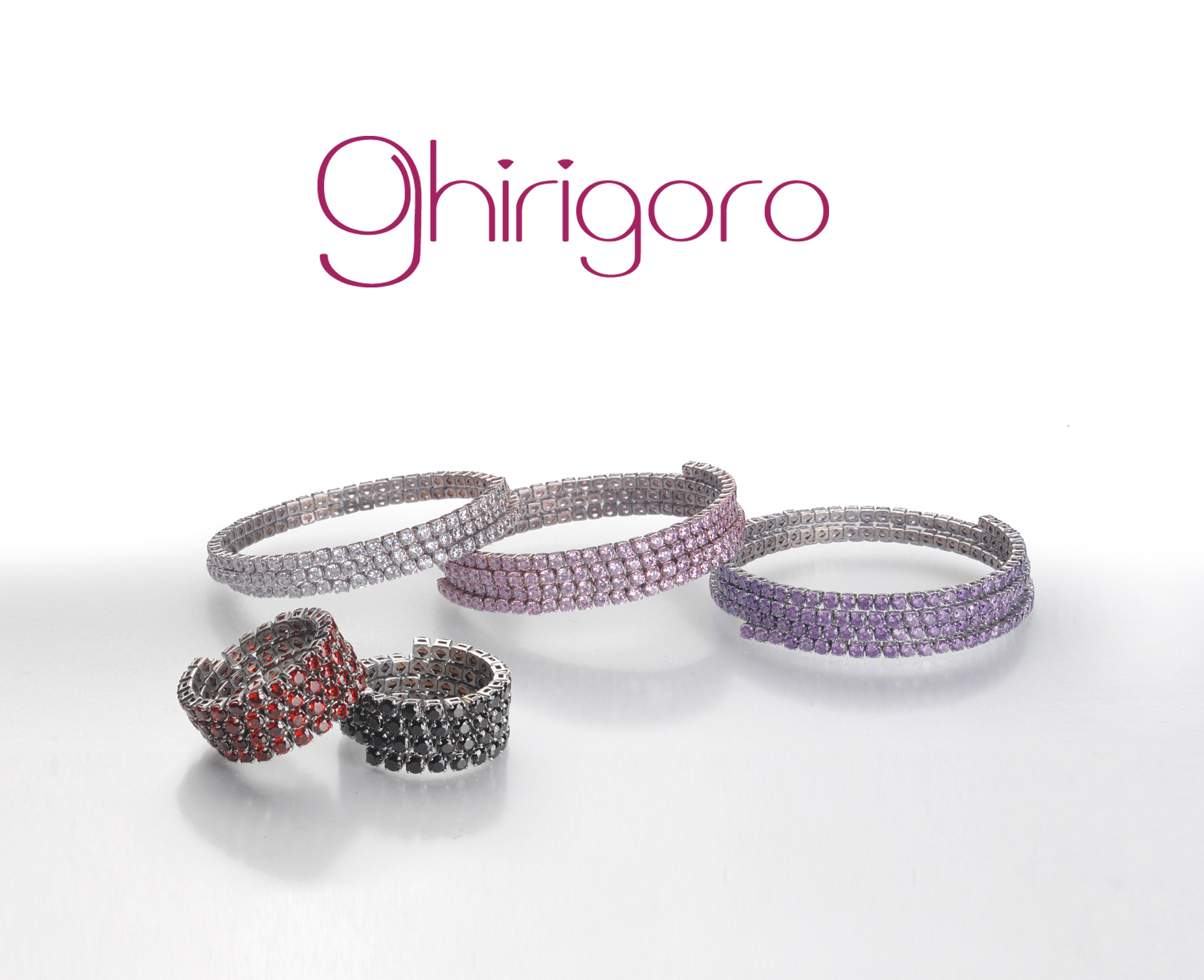 ghirigoro - A new concept of bracelets and rings -
